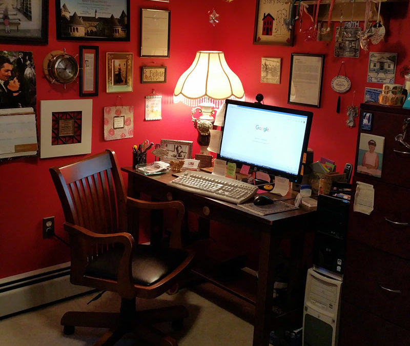 Kathleen's home office