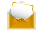 Gold Envelope Icon
