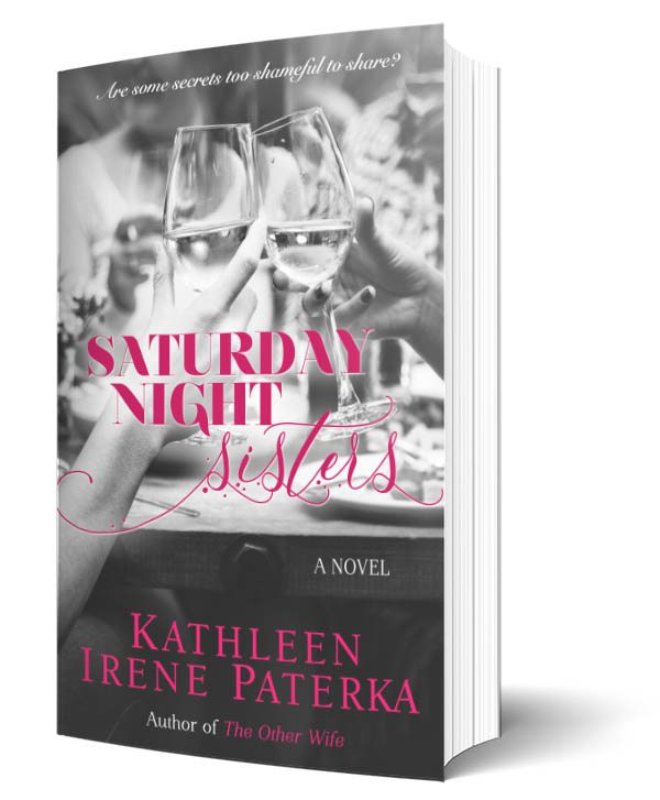 3D Standing Book Cover for Saturday Night Sisters